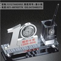 同学会 毕业10周年聚会纪念品 水晶数字办公礼品