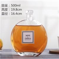 玻璃瓶創意玻璃小酒瓶果酒瓶飲料瓶
