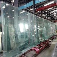 厚度15、19mm超大超長鋼化玻璃