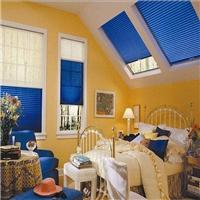 天窗电动百褶遮阳帘/广州优越特种玻璃
