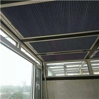 天窗遥控电动百褶帘/广州优越特种玻璃