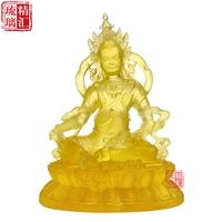 大号琉璃佛像厂家 广州琉璃佛像工厂 琉璃黄财神佛像