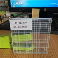 夹丝玻璃 夹丝玻璃移门 办公隔断夹丝玻璃