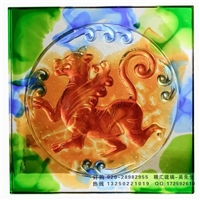 广州琉璃工厂 古法琉璃背景砖 琉璃背景墙 装潢