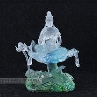 古法琉璃三十三观音 广州琉璃佛像工厂 琉璃观音厂家