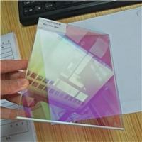 炫彩玻璃 幻彩钢化玻璃 单片6厘炫彩玻璃