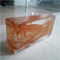 彩色透明實心玻璃磚/廣州優越特種玻璃