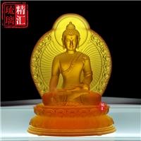 寶島琉璃佛像定做廠家 廣州琉璃工廠 古法琉璃佛像加工