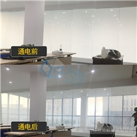 四川廠家通電霧化玻璃一平方多少錢