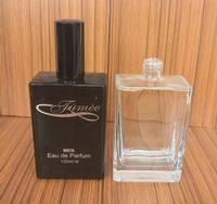 徐州天洪益華玻璃甁廠家開發定做玻璃香水瓶