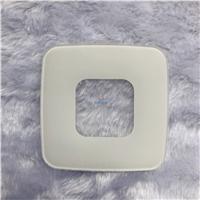 絲印玻璃 3mm高溫白色陶瓷絲印鋼化玻璃