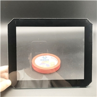 30W燈具鋼化玻璃 實體工廠加工定制投光燈玻璃