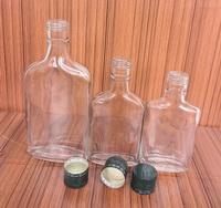 玻璃瓶厂家直供高白料玻璃劲酒瓶