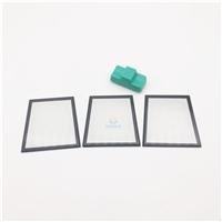 丝印玻璃 磨砂黑色丝印灯具玻璃
