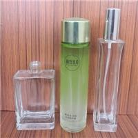 出口玻璃瓶厂家供应高白料玻璃香水瓶