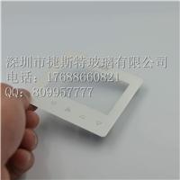 直销定制1mm超薄5寸广告屏触摸面板钢化玻璃