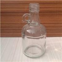 徐州出口玻璃瓶厂家定做带柄玻璃橄榄油瓶