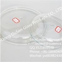 耐热可视透明玻璃锅盖 高硼硅防溢多尺寸玻璃锅盖批发