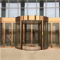 转门生产厂家 承接自动旋转门安装工程
