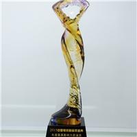 廣州琉璃獎杯定做廠家 明星頒獎典禮獎杯 廣州獎杯工廠