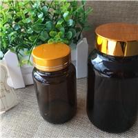 茶色避光小药瓶玻璃胶囊片剂粉末瓶医用带盖密封空瓶
