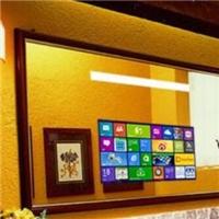 四川成都镜显玻璃 镜面显示触摸玻璃