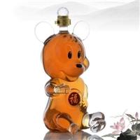 米老鼠造型玻璃工艺酒瓶手工玻璃白酒瓶