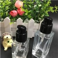 四方形乳液瓶粉底液瓶隔离霜瓶化妆品玻璃瓶