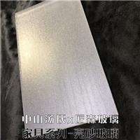 亮砂玻璃台面玻璃定制