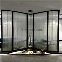 酒店装饰夹丝玻璃 隔断屏风夹丝玻璃