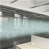 青岛采光顶贴膜,写字楼贴膜,防晒膜上门安装
