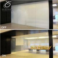 厂家直销通电玻璃 智能调光玻璃 雾化电控玻璃
