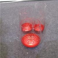 透明玻璃杯 贴金箔玻璃杯