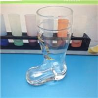 靴子杯 啤酒杯 玻璃制品  创意啤酒杯
