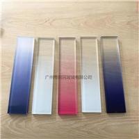广州供应渐变玻璃价格淋浴房磨砂钢化玻璃