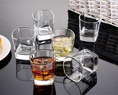 家用六角杯批发|山西大华玻璃实业有限公司