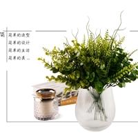 DHH2018017(竖棱)机制花瓶|山西大华玻璃实业有限公司
