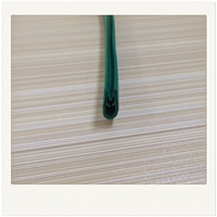 PVC橡胶U型包边装饰防尘条