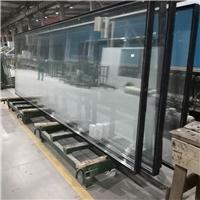 19mm超白+1高等+19mm超白中空钢化玻璃