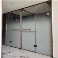 磨砂渐变玻璃 隔断磨砂渐变玻璃 淋浴房磨砂渐变玻璃