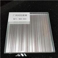 广州夹丝玻璃 拉丝玻璃 钢化夹丝玻璃价格