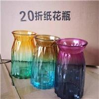 玻璃瓶廠家供應彩色玻璃花瓶