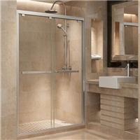揚州定制淋浴房玻璃移門安裝一平方多少錢