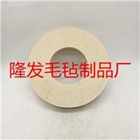 玻璃专用毛毡抛光轮,玻璃打磨抛光材料羊毛毡轮