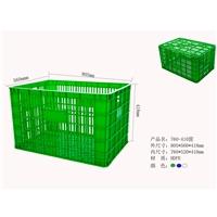 塑胶框  760-410包装塑胶框  包装周转筐