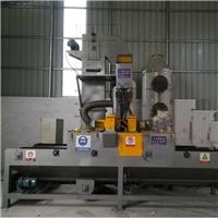 喷砂机家具铝材处理通过式抛丸机用途