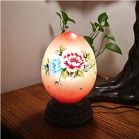 创意手绘台灯卧室灯玄关灯浪漫礼物网红小夜灯