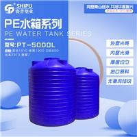 污水处理储罐 5立方滚塑储罐 大型塑料水塔厂家