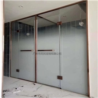 广州供应淋浴房磨砂渐变玻璃工厂直销