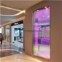 广州钢化炫彩玻璃幻彩玻璃6厘单片厂家供应
